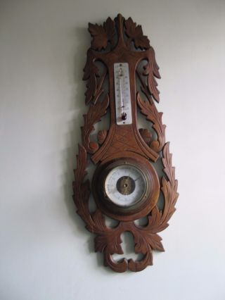 Old French Carved Barometers photo