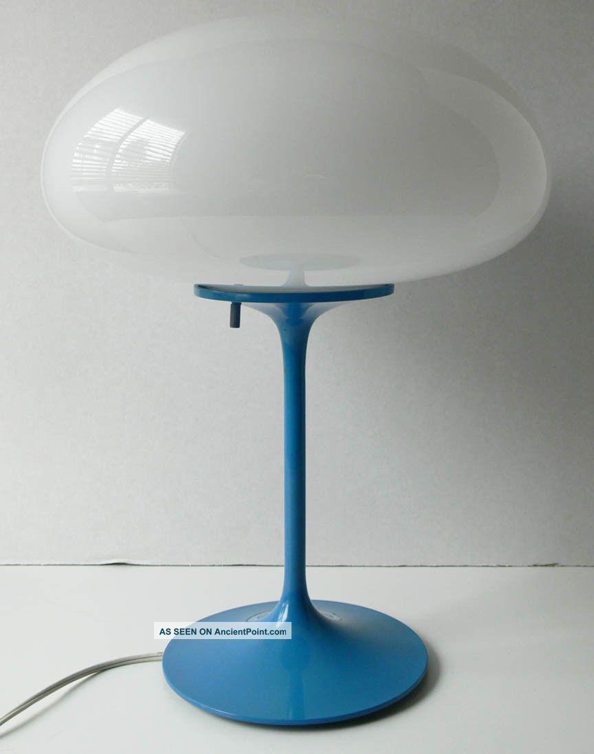 Bill Curry Design Line Stemlite Mushroom Table Lamp Mid - Century Tulip Eames Era Mid-Century Modernism photo