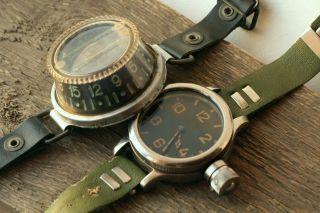 Diver 191 - Ch Vodolaz Zchs Zlatoust Gigantic Watch Scuba And Diving Wrist Compass photo