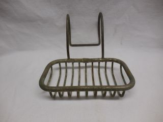 Vintage Claw Foot Tub Wire Rack Soap Dish photo