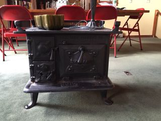 Antique,  1913,  Shipmate,  Nautical,  Wood/coal Stove,  Model 1012,  Connecticut photo