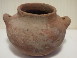 Holy Land Pottery Cooking Pot C.  3000 Bc photo