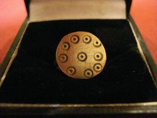 Ancient Roman ' Magic Eye ' Ring - - Detector Find photo