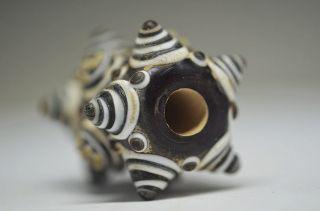 Exquisite Chinese Peking Old Colored Glaze Bead Pendant Fw20 photo