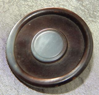 Antique Vintage Button Carved Mother Of Pearl Abalone Shell 133 - A photo