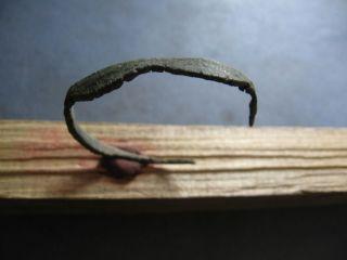 Ancient Celtic Bronze Wave Form Bracelet 600 - 400 Bc photo