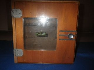 Vintage Barber,  Medical Sterilizer,  Razor,  Art Deco Cabinet,  - Prompt Ship photo