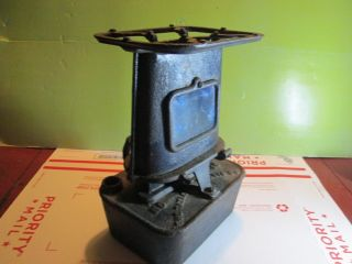 Cast Iron Railroad Heater - Sad Iron - Camp Stove 1890 ' S photo