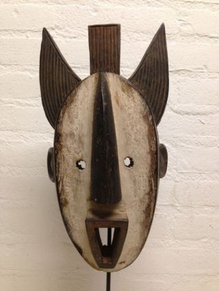 Liberia: Old - African - Tribal - Mask From The Dan. photo