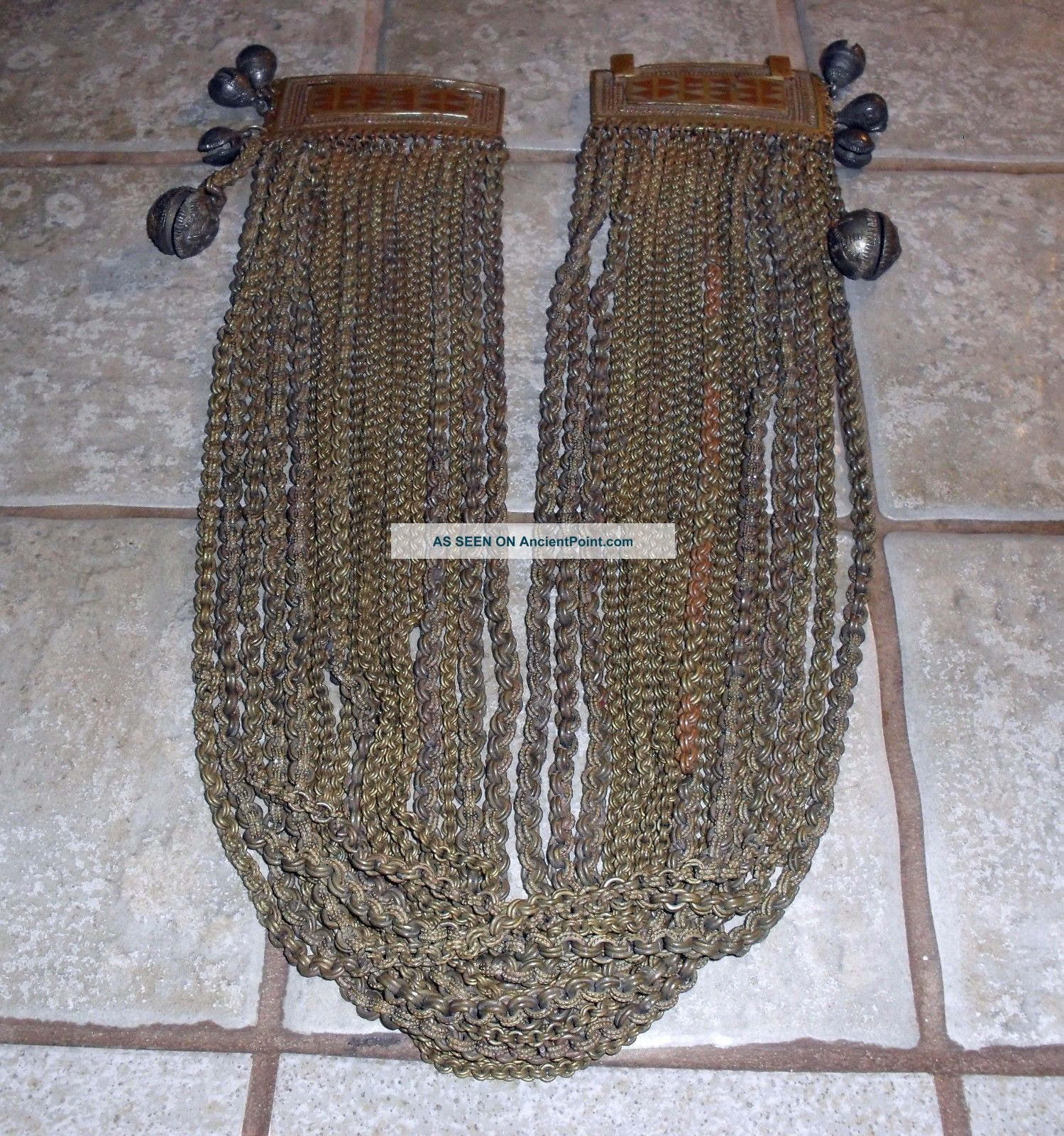 Antique Maiden ' S Belt,  Manobo People,  Mindanao,  Philippines Pacific Islands & Oceania photo