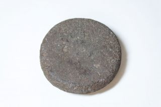 Ancient Pre - Contact Hawaii Polishing Stone - photo