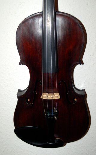 Fine Antique Handmade German 4/4 Master Violin From George Kehl 1947 photo