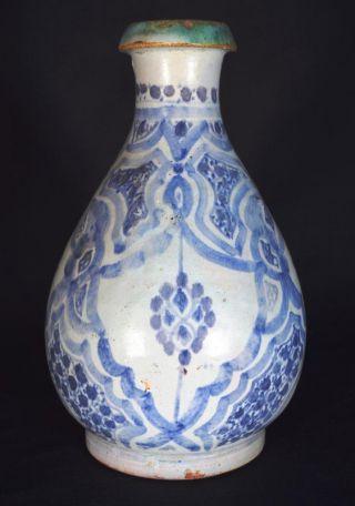 Chinese Wanli Bottle Vase,  Very Rare Islamic Design,  C.  1600,  Museum Quality photo