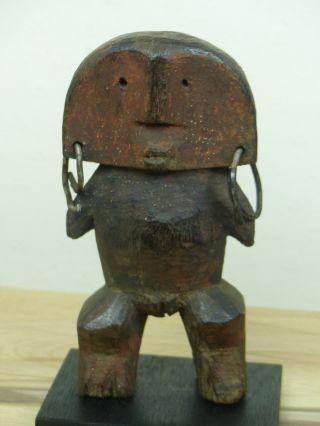 Unusual Azande Figure North Congo photo