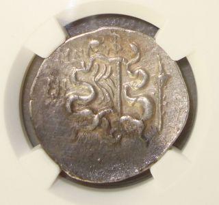 180 - 67 Bc Ionia,  Ephesus Ancient Greek Silver Cistophorus Tetradrachm Ngc Ch Vf photo