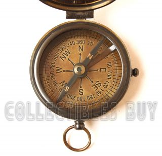 Antique Maritime Calendar Compass Nautical Kelvin & Hughes Compass Trekking Trip photo