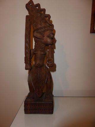 African Carving Gani Fakeye photo