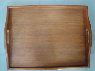 Vintage Goodwood Teak Wood Table Top Serving Tray Thailand photo