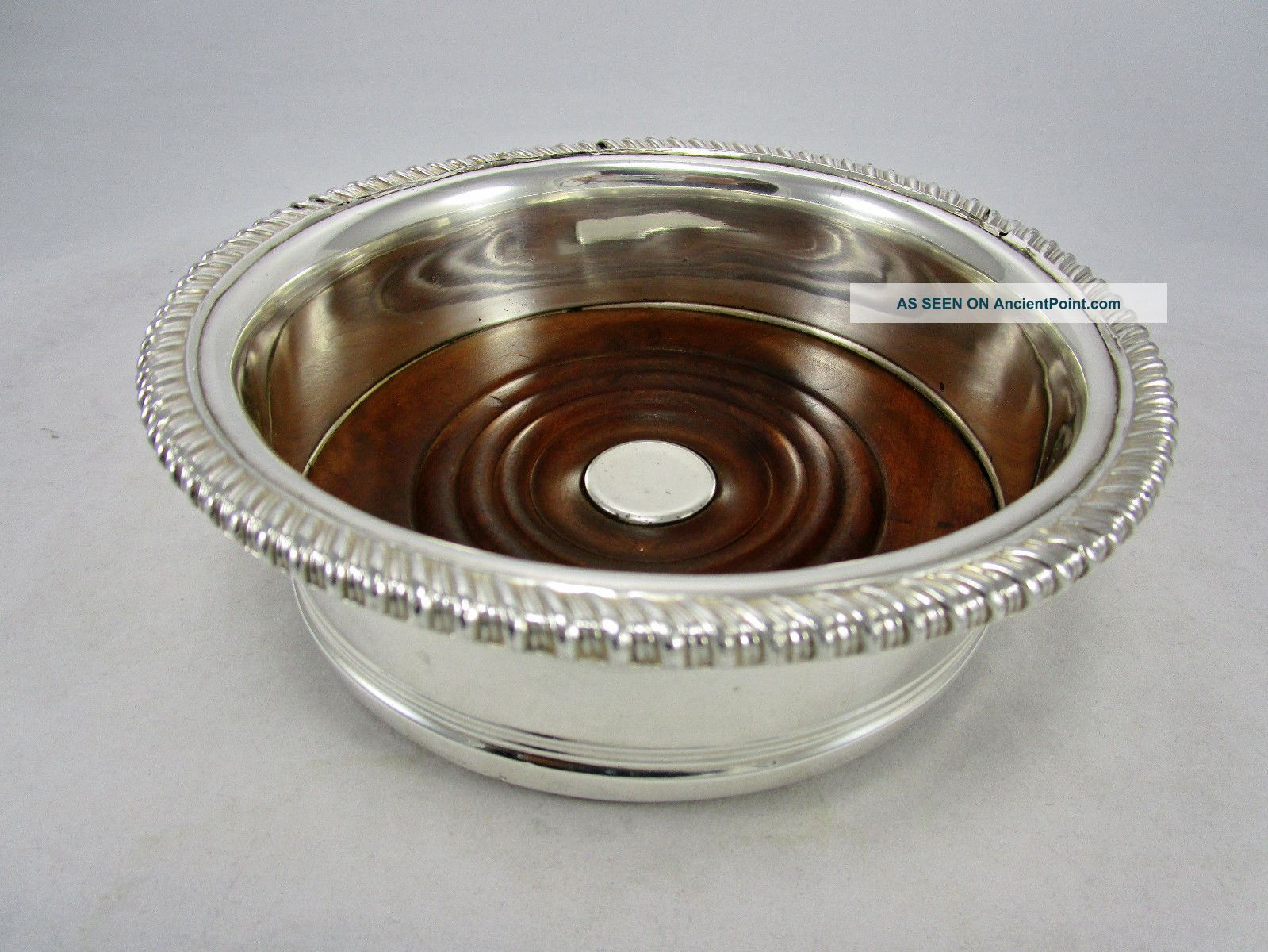 Matthew Boulton & Co Old Sheffield Plate Champagne Wine Coaster Silver Plate Dishes & Coasters photo
