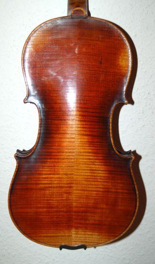 Fine Antique Handmade 4/4 Violin - Label Alexander Dulfenn Fecit Livorno 1625 photo