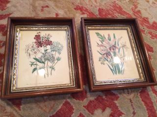 Matched Pair Victorian Wood And Gilt Frames photo