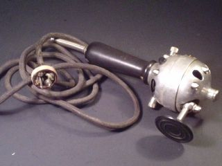 Vintage Rare Koken Barber ' S Supply Novus Vibrator N22068 1902 Silver Metal Black photo