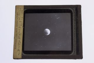 Harvard College Observatory Moon Lunar Eclipse In 1888 Magic Lantern Photo photo