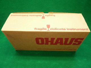 Nib Ohaus 310 - 00 Dial - O - Gram Mechanical Balance 310g Capacity 0.  01g Readability photo