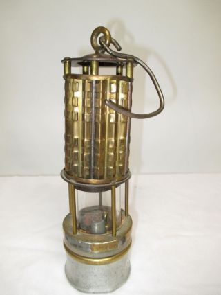C1800s Koehler Bureau Of Mines Miners Permissible Safety Lamp photo