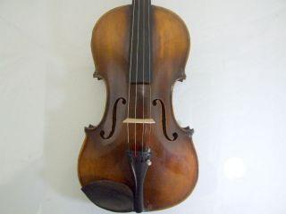 1920s Feine 4/4 Hi Geige Violine Masakichi Suzuki No6 Mij Japan Antique photo