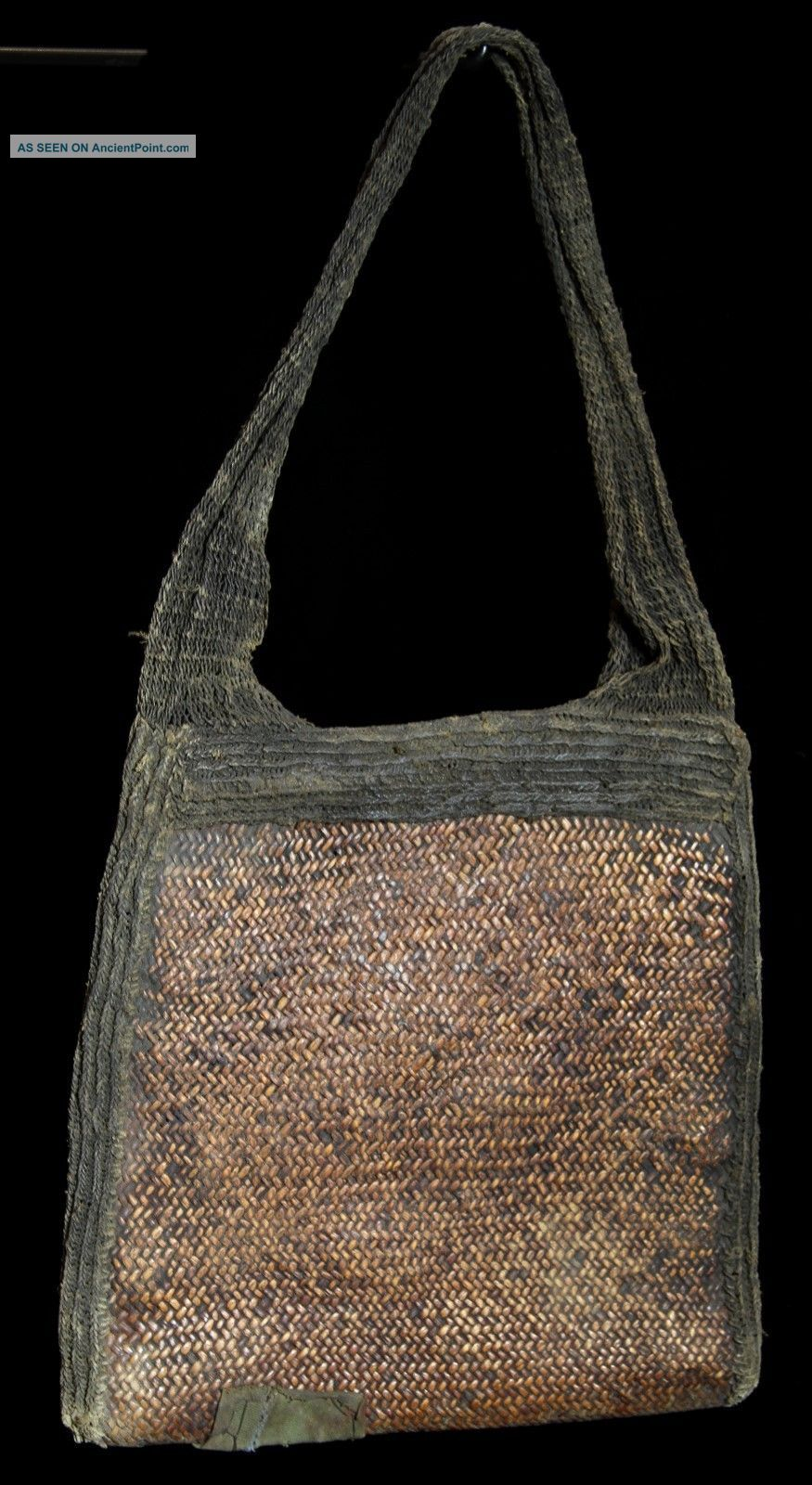 Guinea Southern Highland Mens Woven Bag Museum Quality Pacific Islands & Oceania photo