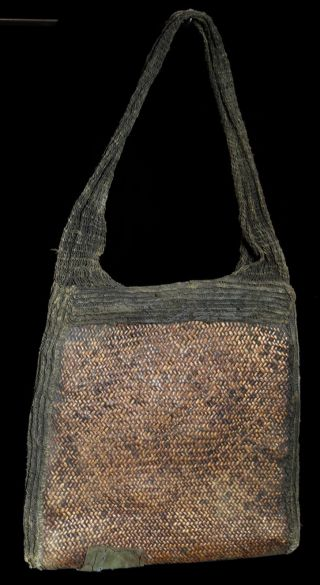 Guinea Southern Highland Mens Woven Bag Museum Quality photo