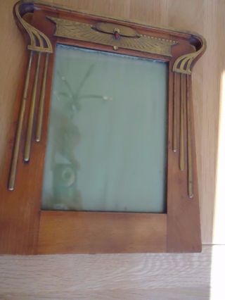 Secessionist - Jugenstil - Picture Photo Frame Eygptian Revival Style,  No 2.  Stunning photo