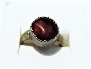 Vintage Islamic Middle Eastern Tribal Ethnic Red Agate Ring خاتم اسلامي photo