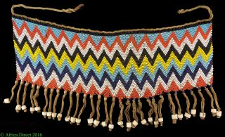 Kirdi Cache Sexe Beaded Apron Cameroon Africa Was $99 photo