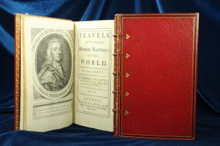 Swift Travels Into Several Remote Nations 1726 - 27 Gulliver ' S 2 Vols 8vo 1st Nr photo