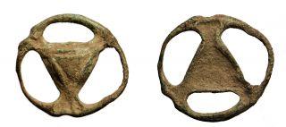P29: Ancient Celtic Bronze Proto Money Piece photo
