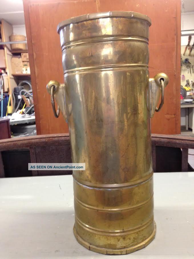 Vintage Brass Umbrella Holder 19