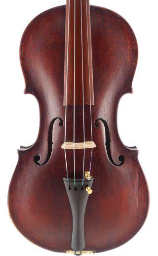 Rare - Antique F.  Gunter Hoyer Labeled 4/4 Master Violin photo