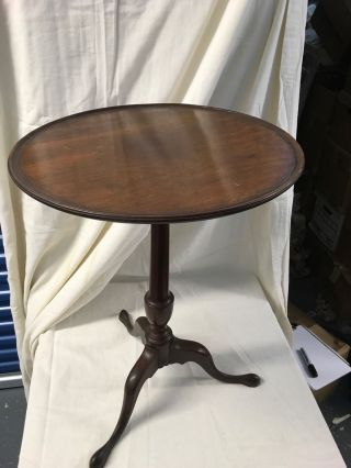 19th Century Reproduction Of George Iii Occasional Table photo