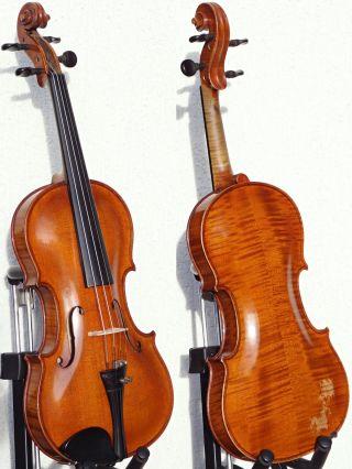 Fine Antique Czech Violin - Ladislav F.  Prokop,  Chrudim,  1922.  Great Tone & Build photo