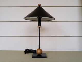 Robert Sonneman George Kovacs Table Lamp Mid Century Post Modern Memphis photo