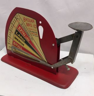 Egg Scale Poultry Antique Style Brower Hen Chicken Sizer Primitive Farm 538 photo