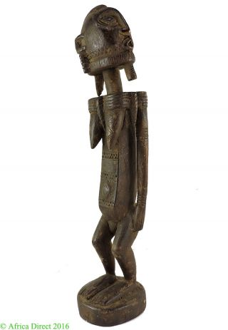 Dogon Female Figure Mali African Art 19 Inch Was $290 photo
