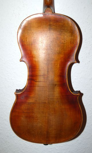 Fine Antique Handmade German 4/4 Violin - Over 100 Years Old photo