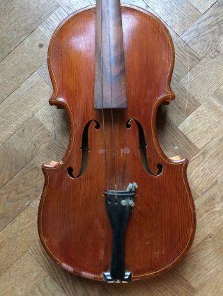Viola Alceo Piatesi,  Conselice 1986,  42 Cm.  Lenght.  Old Italian Alto Violin photo