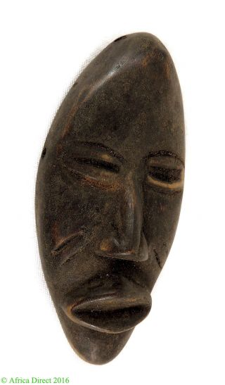 Dan Passport Mask Cote D ' Ivoire African Art Was $39 photo