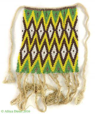 Kirdi Apron Beadwork Cache Sexe Cameroon African Art Was $69 photo