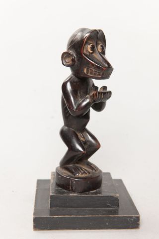 Baule Zoomorphic Statue,  Côte D ' Ivoire,  African Tribal Arts photo