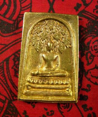 Thai Amulet Buddha Somdej Lp Kloy Amulet Pendant Rich Luck Protection,  02 photo